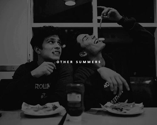 """styxs: """" Aristotle and Dante Discover the Secrets of the Universe Sequel - There Will Be Other Summers by Benjamin Alire Sáenz """""""