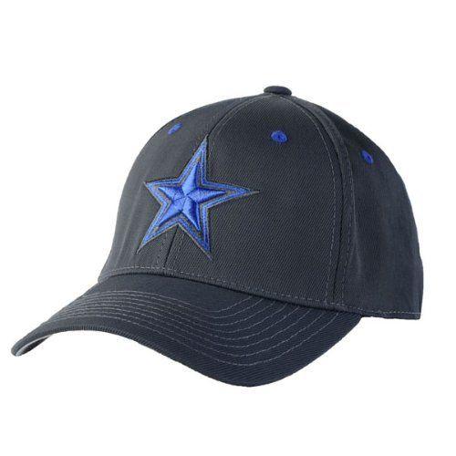 Dallas Cowboys Gray w/ Navy Star Flex Fit Hat / Cap S/M DCM. $21.99