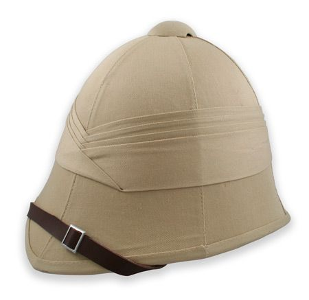 Antique Explorer's Pith Helmet. No self respecting explorer would leave home without one. $24.95