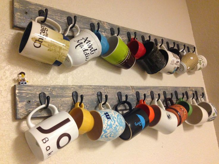 25 best ideas about tea cup display on pinterest coffee for Mug racks ideas