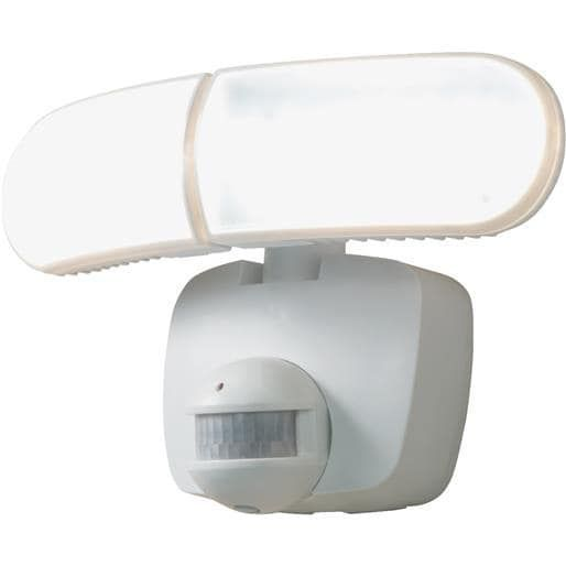 Cooper Lighting Led Solar Motion Light MST800LW Unit: Each, White