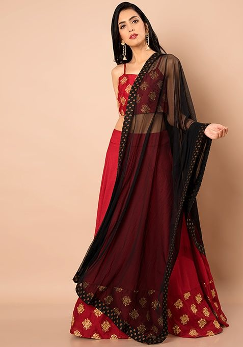 Image result for amazing net dupatta designs online