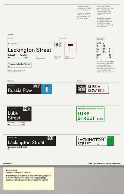 Royal Academy of the Arts / Paper City: Urban Utopias / Bibliothèque Pad / Printed Matter / 2009