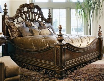 High End Master Bedroom Set. Manor Home Collection. Live Like A King, Luxury  Furnishings For Castles To Cottages Bernadette Livingston Furniture.