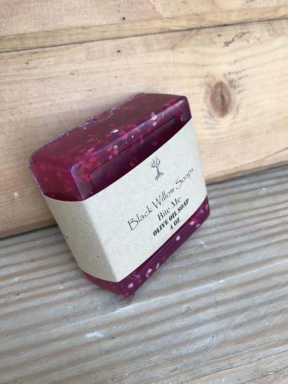 Bite Me Acne Soap Bar Acne Soap Handmade Soap Natural Soap
