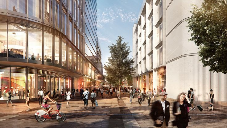 Foster + Partners Reveals Cardiff Central Square Masterplan,Courtesy of Cardiff City Council