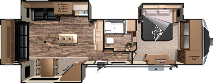 2013 Open Range Fifth Wheel Floor Plans