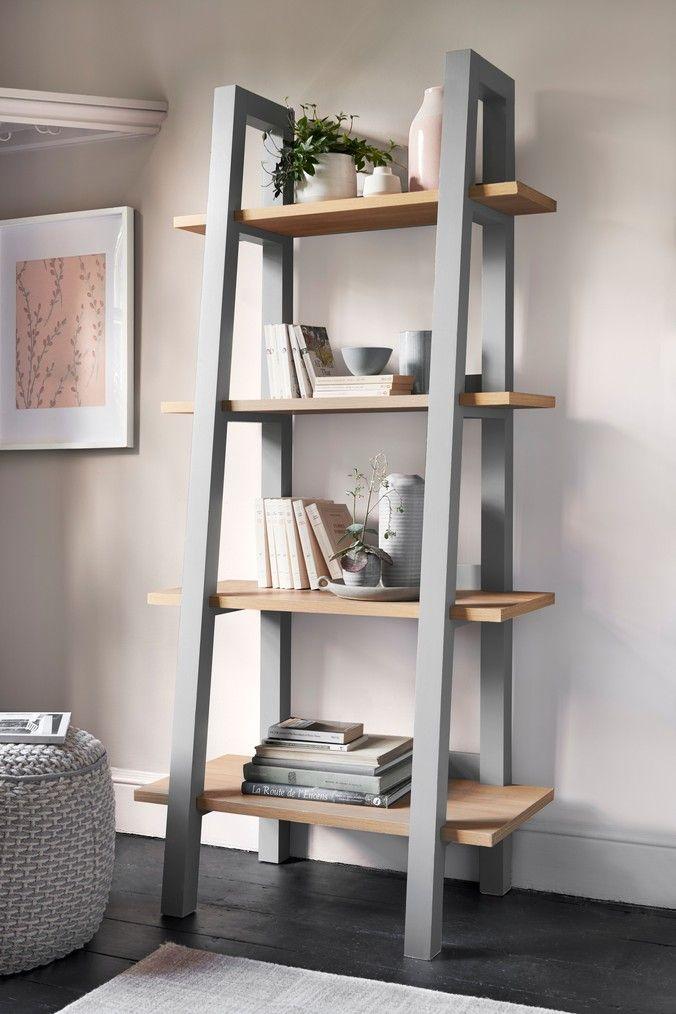 Next Malvern Ladder Shelf Grey Ladder Shelf Decor Ladder