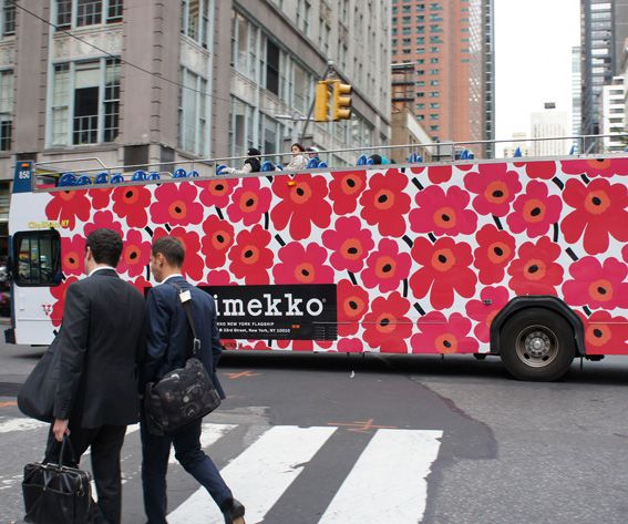 Marimekko's Unikko Print Is Turning 50! See the Pattern Around the Globe - NEW YORK CITY from InStyle.com