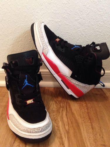 Nike AIR SPIZIKE Infrared jordan Spiz'ikes Retro Frankenstein Size 12 Og  Jordan