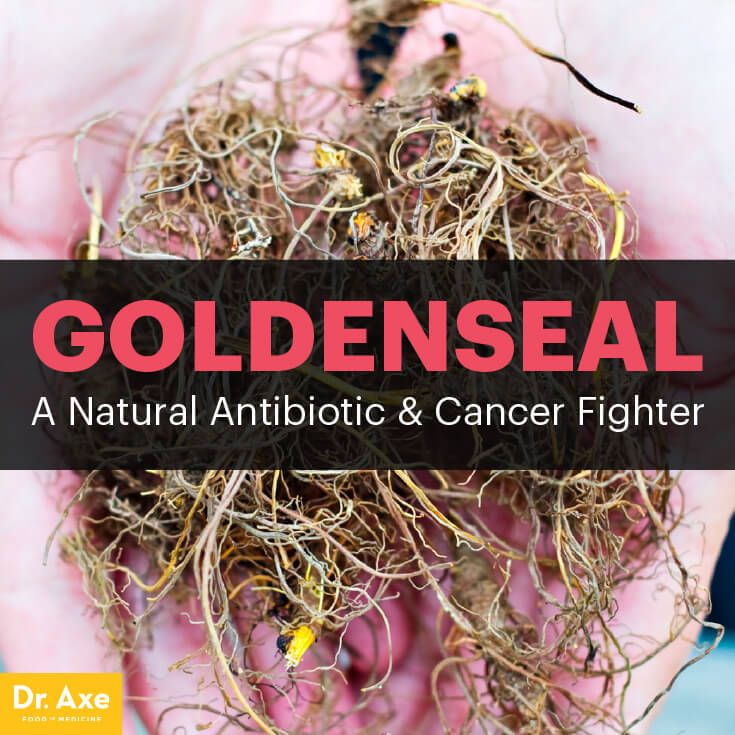 Goldenseal: A Natural Antibiotic & Cancer Fighter - Dr. Axe