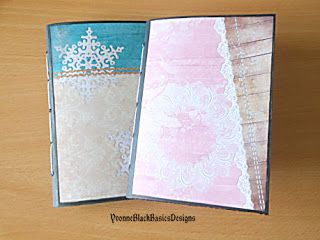 YvonneBlackBasicsDesigns: A Saddle Stitch Binding!