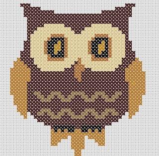 Owl pattern.