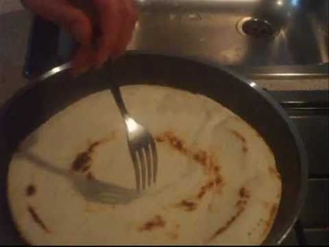 Come fare la piadina romagnola a casa - YouTube