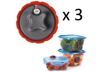 Set de 3 cadrans dateurs Cuisipro