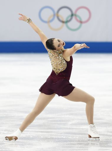 Kaetlyn Osmond of Canada performs in the ladies free skate program in Sochi