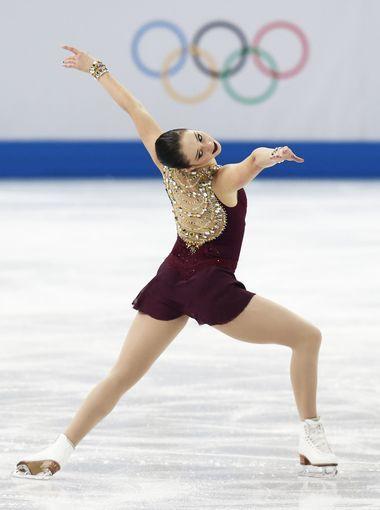 Kaetlyn Osmond of Canada performs in the ladies free skate program in Sochi