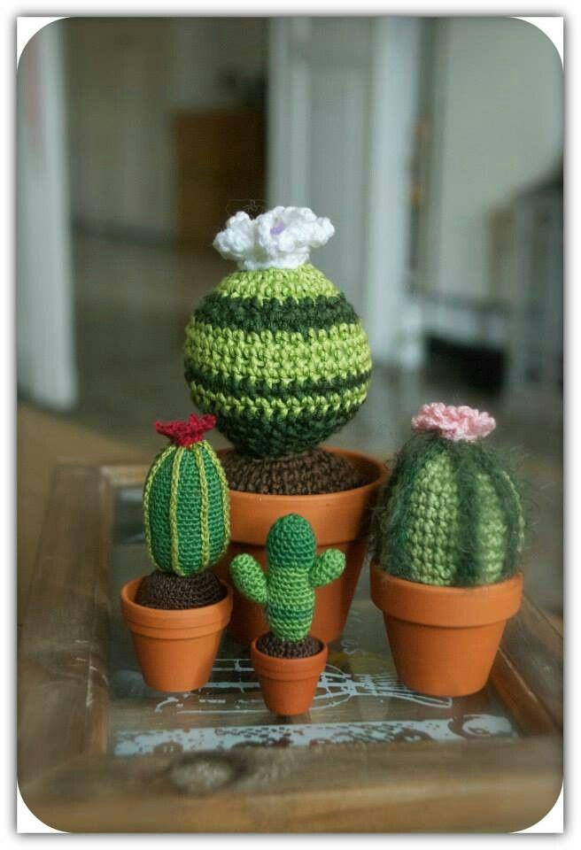 My handmade crochet cactus