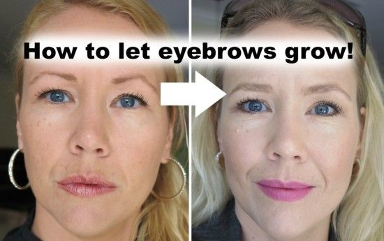 How To Re-grow Your Over-Plucked Eyebrows | The WHOot