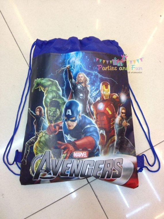 8 Avengers Party Favors Superhero Party Favors by partiesandfun