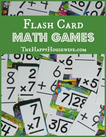If your child needs some extra help with their math facts, then here are 5 Fun Games to play (and reinforce) math facts! | The Happy Housewife