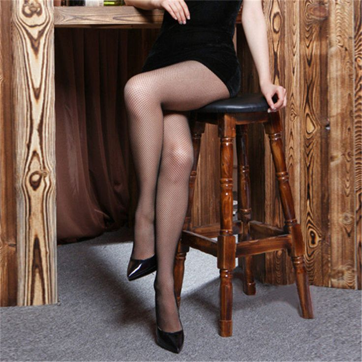 Women Fishnet Tights Black Sexy Seamless Pantyhose High Waist Collant Femme Big Mesh Stockings