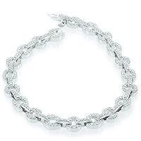 Diamantarbånd | 1,00 carat Top Wesselton / VS - Scintillo Diamantarmbånd
