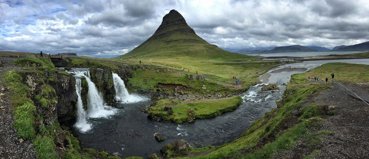 Kirkjufell and Kirkjufellsfoss, two of the stunning sights on the Snæfellsnes Peninsula, Iceland | heneedsfood.com