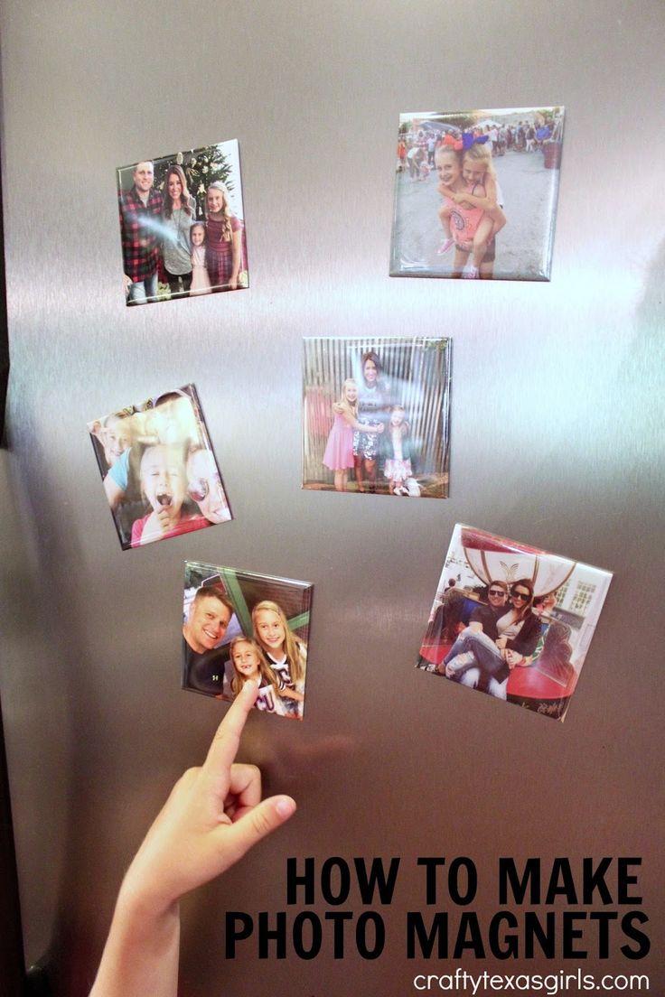 Crafty Texas Girls: Easy DIY Photo Magnets