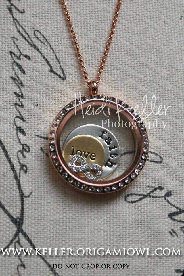 Infinity charm. Infinite love, infinite faith Origami Owl locket. Get yours at  www.sramirez.origamiowl.com
