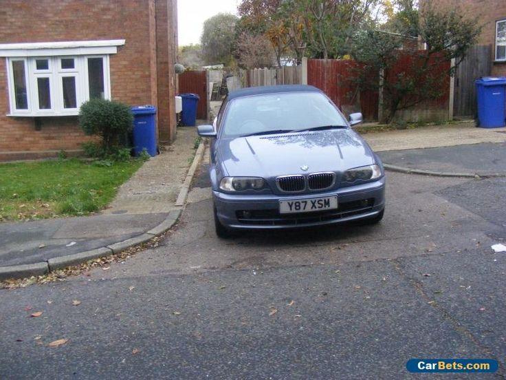 2001 BMW 325CI AUTO BLUE #bmw #325ciauto #forsale #unitedkingdom