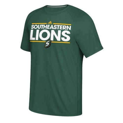 Adidas Men's Southeastern Louisiana University Dassler Ultimate Short Sleeve T-shirt (Green Dark, Size X Large) - NCAA Licensed Product, NCAA Men's...