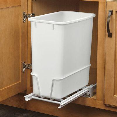 Rev-A-Shelf 20 Quart Pullout Waste Container & Reviews | Wayfair