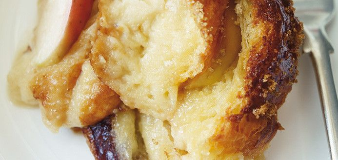 Chocolate Croissant and Apple Bread Pudding  Recipes | Ricardo