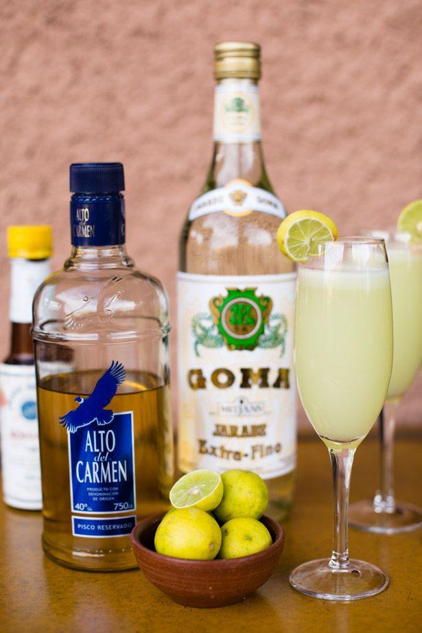 Pisco Sour... My favorite drink