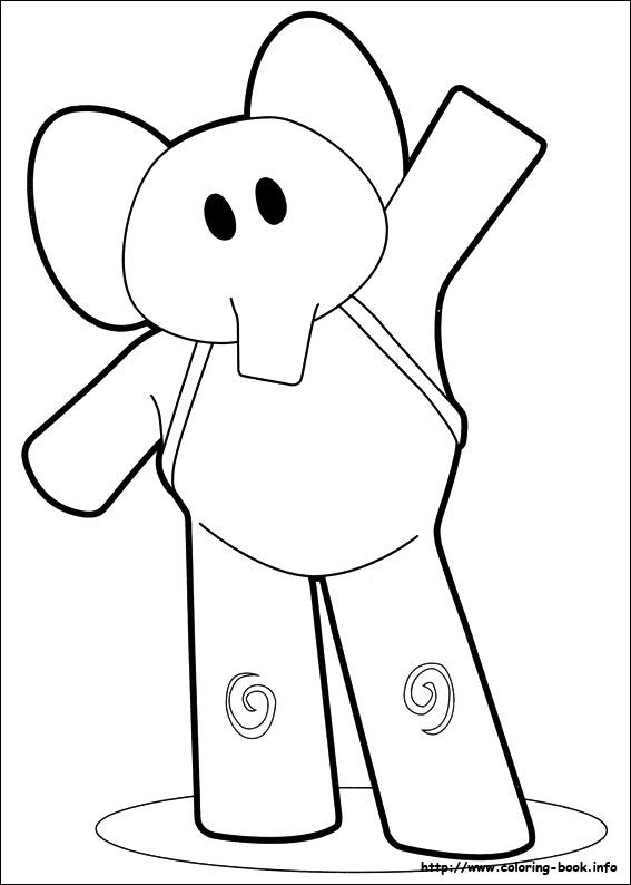 poko coloring pages - photo#3