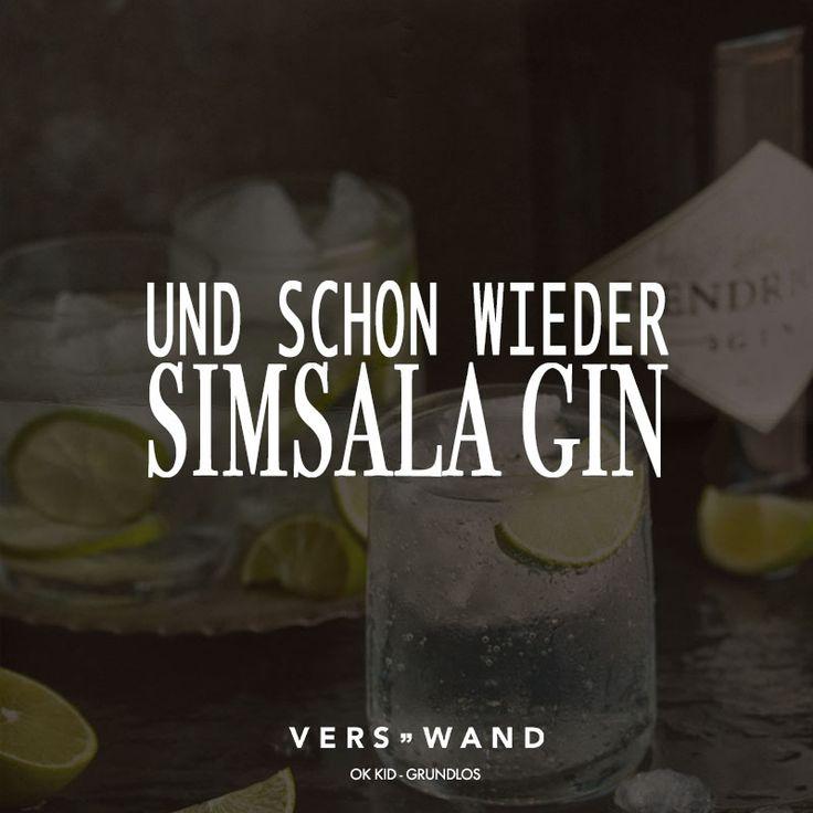 Und schon wieder Simsala Gin. – OK KID – VISUAL STATEMENTS