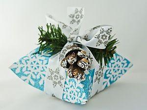 МК: Новогодняя коробочка или Зимнее чудо | Ярмарка Мастеров - ручная работа, handmade