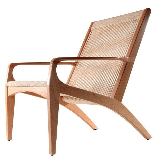 Poltrona Gisele, design Aristeu Pires