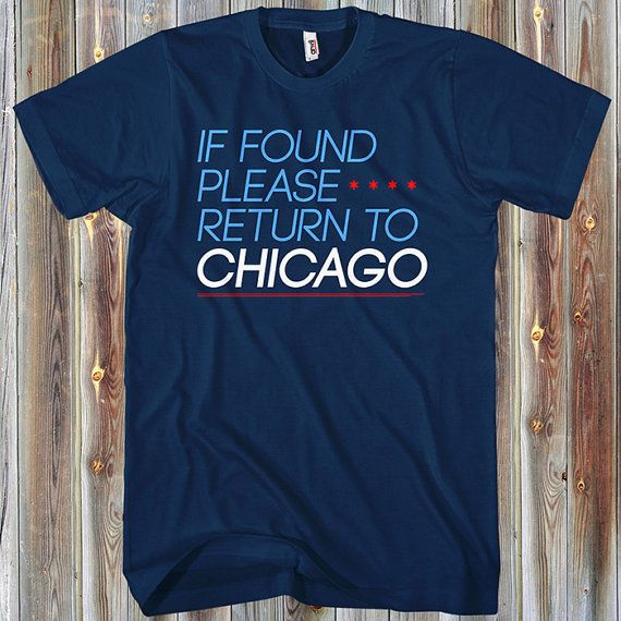 Return to Chicago T-shirt - Men and Unisex - XS S M L XL 2x 3x 4x - Chicago  Tee, Windy City, Gift - 2 Colors