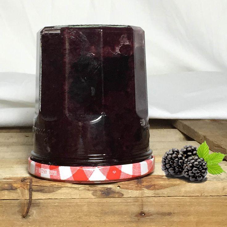 Receta de mermelada de moras sin azúcar y indicaciones par realizar el método de conservas de envasar al vacío.