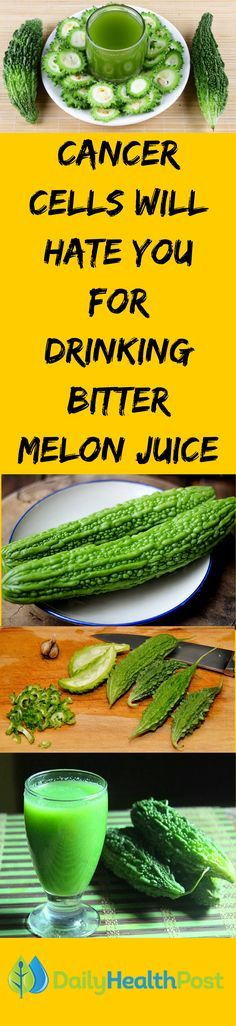 Fitting into the stereotypical if-it's-good-for-me-it-can't-taste-good category, bitter melon may look funny (like a warty cucumber) and may have a sharp taste, but it kills cancer cells.Commonly used in Chinese cooking and medicine, the juice of bitter melons (also known as bitter gourd or karela) contains an enzyme that inhibits the transportation of glucose (sugar), cutting off cancer cells' food supply. Click on the link below for the full video.