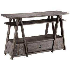 Accent Tables Craftsman Console Table w/ Lower Drawer by Stein World - Wolf Furniture - Sofa Table Pennsylvania, Maryland, Virginia