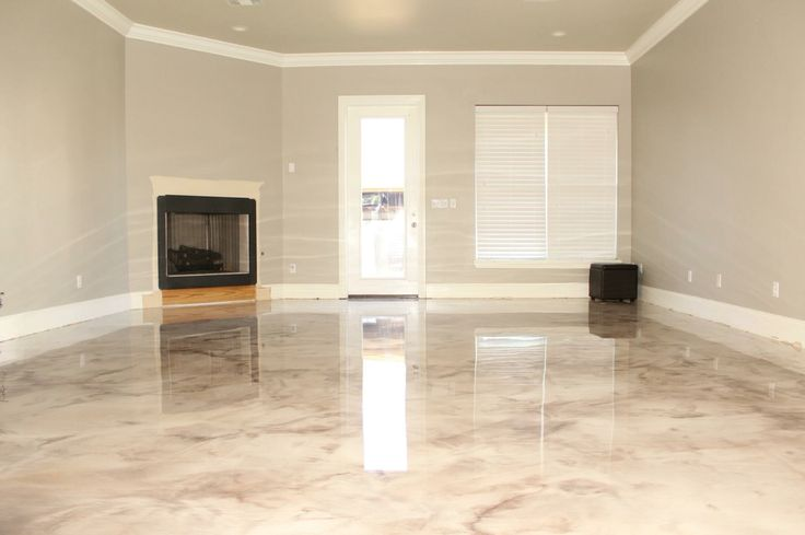 Marbleized metallic epoxy, epoxy floors, decorative concrete, decocretestudios.com