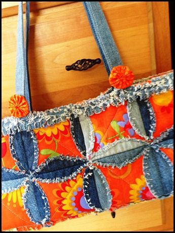 17 Best Images About Rag Bags On Pinterest Blue And