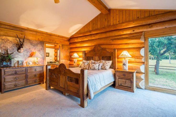 Ranger Hill Ranch, Ranger, TX.  Master bedroom.