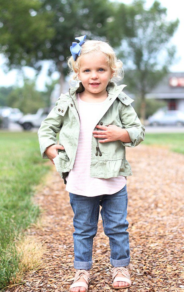Denim Diaries * Old Navy Toddler Girl Fall Outfit