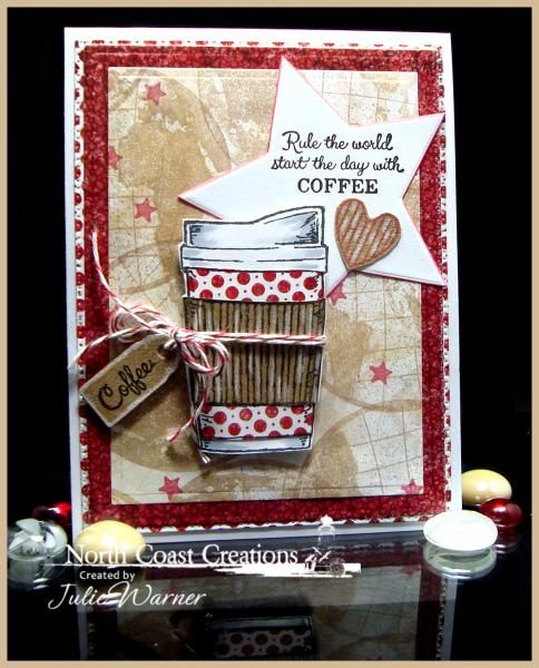 Coffee Rules! FS425 by justwritedesigns - Cards and Paper Crafts at Splitcoaststampers