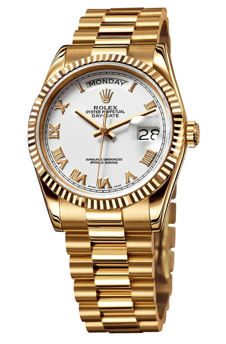 Welcome To RolexMagazine.com...Home Of Jake's Rolex World Magazine..Optimized for iPad and iPhone: Yellow Gold Rolex Day-Date with Raised Yellow Gold Roman Numerals