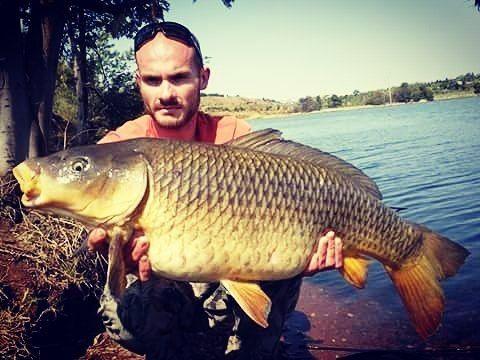 Divan Potgieter (@carp_quest) | What a stunning common out of a public lake in at 35lb. #carpanglingsouthafrica  #theurbananglersa  #divanpotgieter  #carplife  #lovetofish